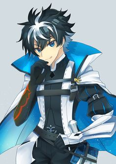 Charlemagne【Fate/Extella】 Anime Oc, Anime Guys, Fantasy Characters, Anime Characters, Dragon Knight, King Of Hearts, Fate Zero, Kaito, Sword Art Online