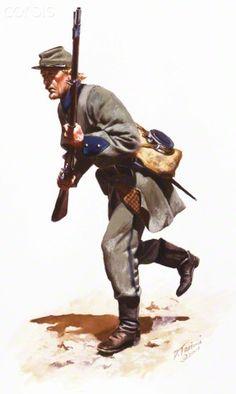 United States Civil War,Confederate Army, 12th Tennessee Regiment 1861.