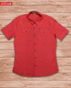 camisa-manga-corta-color-coral-ref-200548-Mens Fashion #sexy #men #mens #fashion #neutral #casual #male #males #guy #guys #hot #hotlooks #great #style #styles #clothing