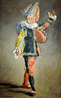 Edouard Manet - Polichinelle at Corcoran Art Gallery Washington DC | por mbell1975
