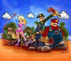 Mario - Mushroom Revolution