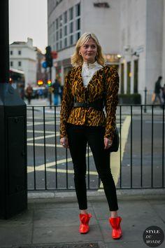 Pandora Sykes by STYLEDUMONDE Street Style Fashion Photography