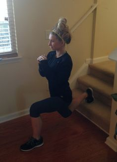 15 min Staircase workout ~ Awesome!