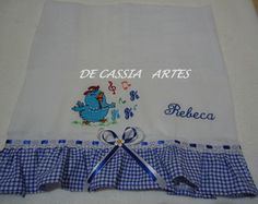 Fralda Bordada REBECA