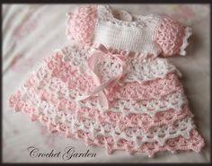 Dixie Belle vestido Crochet Patrón del bebé tot por CrochetGarden