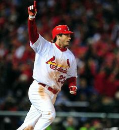 David Freese has been traded to the Angels...wish him all the best...Cardinal fans will be talking about his 2011 WS game 6 heroics for decades....Thanks for the memories Mr. Freese!!