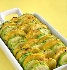 Recipe For Roasted Summer Vegetables