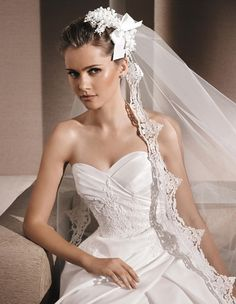 ROSER - Princess wedding dress, with sweetheart neckline | La Sposa