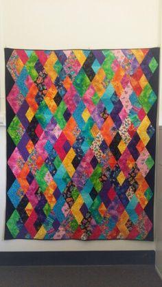 Boomerang. Patten by Jaybird Quilts
