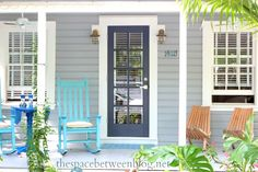 front door colors and using Key West front doors for inspiration the space between