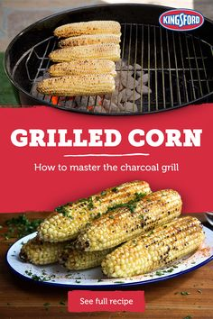 to: Grilled Corn Learn the secret to cooking the most delicious grilled corn in town using Kingsford® charcoal. Tap the Pin for more.Learn the secret to cooking the most delicious grilled corn in town using Kingsford® charcoal. Tap the Pin for more. Corn Recipes, Vegetable Recipes, Mexican Food Recipes, Vegetarian Recipes, Chicken Recipes, Dinner Recipes, Healthy Recipes, Fast Recipes, Vegetarian Cooking