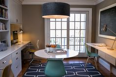 Reichelt Family Office - contemporary - home office - dc metro - by Residents Understood