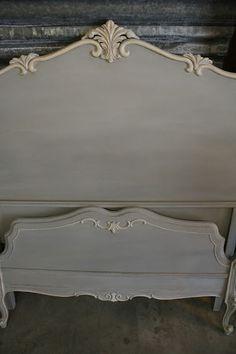 Paris Grey Vintage Bed