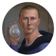 George Tooker. (Self-Portrait)