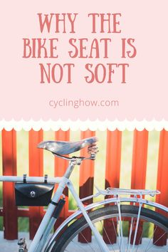Question: How do you keep your bike seat from hurting your butt so much? Answer: Keep riding. You might not like the answer, but it's… Road Bike Accessories, Bike Seat, Cycling, Decor, Biking, Decoration, Bicycling, Decorating, Ride A Bike