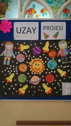 Uzayda neler var, okul öncesi