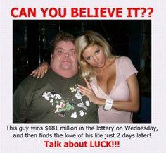 lucky guy!