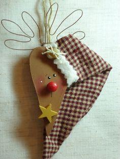 Whimsical Reindeer Ornament
