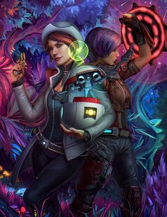 Tales from the Borderlands: Catch a Ride by dandelion