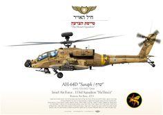 "Israel Air Force 113rd Squadron ""טייסת הצרעה / The Hornet Squadron"" Ramon Air Base, 2013"