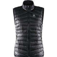 Hagl Essens III Down Vest True Black/Magnetite S