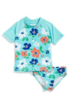 Ready for pool time! Rashguard shirt & bottoms for the little one.
