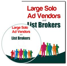Learn About Large Solo Ad Vendors And List Brokers! Large Solo Ad Vendors And List Brokers If you need to build a list fast, you can pay these big boys to send you lots of traffic fast. Get Subscribers, Internet Marketing Course, Solo Ads, Sales Letter, Private Label, How To Get Rich, You Youtube, Training Programs, Business Planning