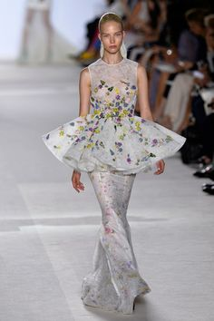Giambattista Valli Fall 2013 couture show. Photo by Getty Images.