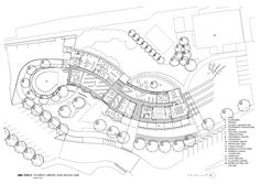 Image 37 of 38 from gallery of Cooroy Library / Brewster Hjorth Architects. Library Architecture, Public Architecture, Architecture Collage, Architecture Plan, Library Floor Plan, Floor Plan Layout, Parametric Design, Graduation Project, Library Design