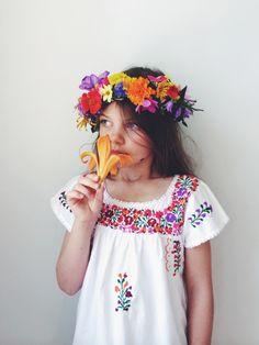 summer garden flower crown : Kirsten Rickert