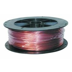 """16 AWG Gauge Bare Copper Wire Buss Wire 25/' Length 0.0508/"""" Natural"""