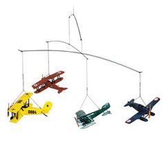 Uro i træ med flyvemaskiner