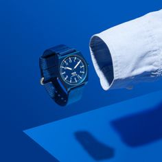 SCOUT (blue) watch by BIG-GAME for Lexon