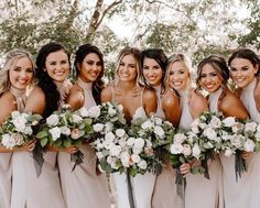 Squad goals in our Collette Collar Maxi ~ Show Me The Ring Crisp on sale now! … Squad goals in our Collette Collar Maxi ~ Show Me The Ring Crisp on sale now! Mumu Wedding, Wedding Goals, Wedding Pics, Wedding Dresses, Neutral Bridesmaid Dresses, Champagne Bridesmaid Dresses, Wedding Ideas, Budget Wedding, Ivory Bridesmaid Dresses