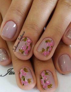 Manicure Nail Designs, Nail Manicure, Nail Polish, Chic Nails, Creative Hairstyles, Nail Art Diy, Nail Arts, Beauty Skin, Pretty Nails