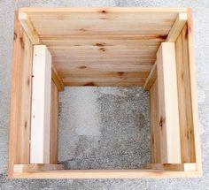 Planter box made from cedar fence pickets and cedar deck for Tapered planter box plans