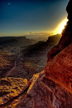 Canyonlands National Park; Utah, photo by Wayne Boland.  Wow!  What a gorgeous photo!