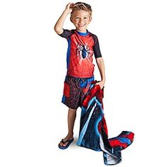 jeremiah's new swim outfit!