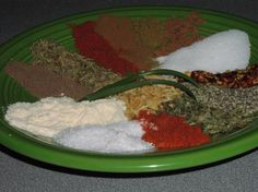 Jamaican Jerk Seasoning.  We added about a 1/4 teaspoon of ghost chili powder to the recipe for an extra kick