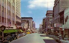 Downtown Little Rock, Arkansas, From 1950 to the 1960s, and then 2006
