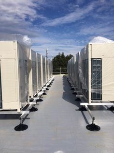 Air Conditioning Services, Air Conditioning Units, Ac Units, Office Buildings, Can Design, Sheds, Schools, Old Things, Commercial