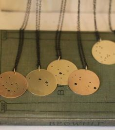 astrological necklace