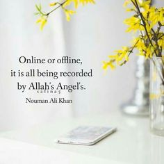 Online/offline - all recorded by Allah's Angels.