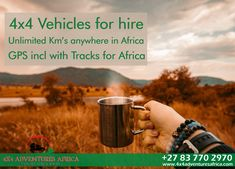 Vehicles for Hire Unlimited Km's anywhere in SA GPS included with Tracks for Africa 4x4, Africa, Adventure, Vehicles, Car, Adventure Movies, Adventure Books, Vehicle, Tools