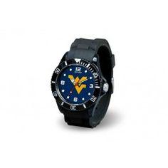 West Virginia WVU Mountaineers Sports Team Spirit Wrist Watch