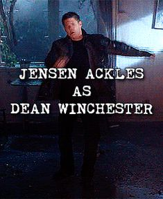 I've always loved this gif of Jensen in a gag reel, imitating Michael Jackson...So Funny!!