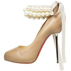 Gives me an idea for shoe clips, clip-on decorative ankle straps.... (Christian Louboutin)