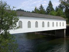 Goodpasture Covered Bridge - Oregon