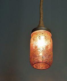 Dancer Mason Lamp - Handmade Moroccan Nights Collection - Dot & Bo