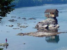 Unique River House in Serbia
